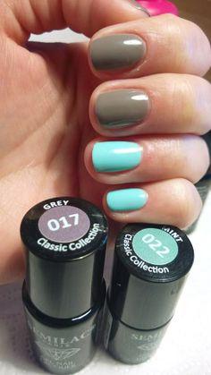 #semilac #diamondcosmetics #nails #nailsaddict