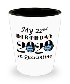 Quarantine 22nd Birthday Gift   Shot Glass Friends 2020   Gift for Best Friend Turning 22   22nd Gift for Him Her Daughter Son Boyfriend   50th Anniversary Gifts, Special Birthday Gifts, Anniversary Funny, Anniversary Photos, Funny Teacher Gifts, Funny Gifts, 23rd Birthday, Glass Material, Best Friend Gifts