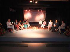 Poemario Horquillas en la mañana La noche del martes 13 de junio, el auditorio de la Casa Cultura Cancun fue el escenario para la presentación del poemario de la poeta Alicia Ferreira.