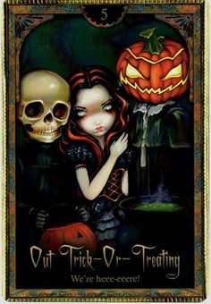 Out Trick-or-Treating ~ Oracle of Shadows & Light