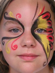vlinder tricolor