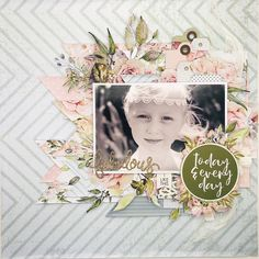 Scrapbooking Layouts, Scrapbook Pages, Scrapbooks, A4, Roses, Silhouette, Black And White, Happy, Creative