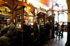 Palace Bar Temple Bar...lovely traditional Victorian bar in the heart of Temple Bar!!!