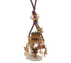 Kirks Folly Fairy Wishes Charm Necklace