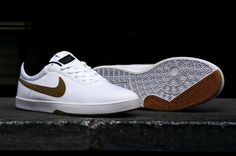 Nike SB Koston SE White/Metallic Gold • Highsnobiety