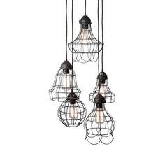 #LuckOfThePin Berliner Five Pendant Lamp