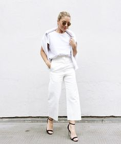 How To Do Winter Whites, According To Instagram #refinery29 http://www.refinery29.com/winter-white-outfit-inspiration-instagram