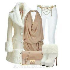 Winter White Stylish Eve. ♡