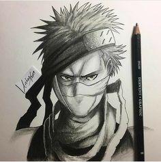 Zabuza- The demon of the mist Naruto Fan Art, Anime Naruto, Naruto Eyes, Naruto Shippuden Anime, Boruto, Naruto Sketch Drawing, Naruto Drawings, Anime Drawings Sketches, Anime Sketch