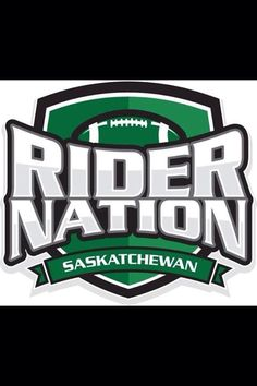 Rider Nation is in small towns ! Go Rider, Football Rooms, Saskatchewan Roughriders, Saskatchewan Canada, Rough Riders, O Canada, Vegas Golden Knights, Pin Logo, Green Colors