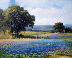 texas bluebonnet paintings - Google Search | Art | Pinterest ...