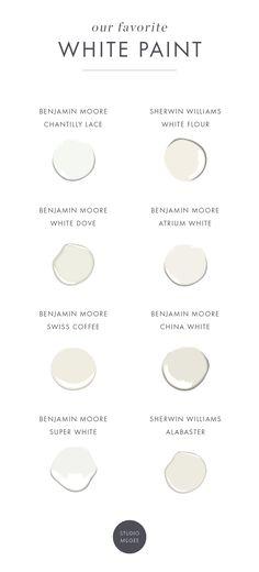 Studio McGee - White Paint 2018