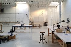 Sculpture, Design and Ceramics Studio — Sculpture Space NYC Center for Art & Ceramics Workshop Studio, Interior Decorating, Interior Design, Interior Ideas, Design Design, Workspace Inspiration, Ceramic Studio, Office Interiors, Living Spaces