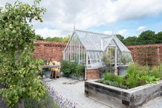 National Trust Mottisfont Greenhouse by Alitex at A Place in the Garden