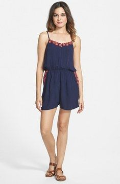 so pretty -- BP. Embroidered Romper (Juniors)  -- http://www.hagglekat.com/bp-embroidered-romper-juniors/