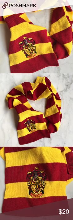 Harry Pitter Gryffindor Scarf Condition: pre-owned. Minimal wear. No noted defects | NO TRADES Accessories Scarves & Wraps