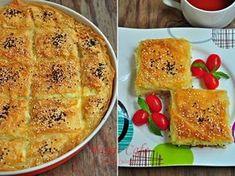 Tart Recipes, Cooking Recipes, Borek Recipe, Apple Tart Recipe, Yogurt Cake, Turkish Recipes, Snacks, Vegetarian Recipes, Food And Drink