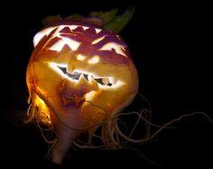 turnip jack o'lantern   Flickr - Photo Sharing!