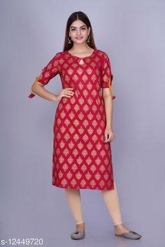 Kurtis & Kurtas Adrika Superior Kurtis Fabric: Rayon Sleeve Length: Three-Quarter Sleeves Pattern: Printed Combo of: Single Sizes: S (Bust Size: 36 in, Size Length: 43 in)  XL (Bust Size: 42 in, Size Length: 43 in)  L (Bust Size: 40 in, Size Length: 43 in)  M (Bust Size: 38 in, Size Length: 43 in)  XXL (Bust Size: 44 in, Size Length: 43 in)  Country of Origin: India Sizes Available: S, M, L, XL, XXL   Catalog Rating: ★4.1 (493)  Catalog Name: Myra Sensational Kurtis CatalogID_2398784 C74-SC1001 Code: 213-12449720-