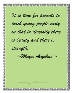 Teaching young people beauty and strength
