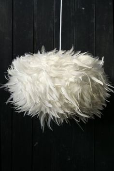 Fabulous Feather Ceiling Light Shade