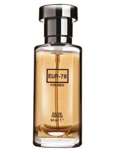 Parfum pentru barbati Eur 78 EDP - 50 ml - Fresh, Inviorator, Fructat, aroma de citrice cu note de lemn. Concentratie superioara de parfum. Concentratie de parfum 9%. Soap Dispenser, Perfume Bottles, The Originals, Soap Dispenser Pump, Perfume Bottle