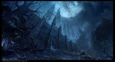Chateau of Dark Moon by ~ChaoyuanXu
