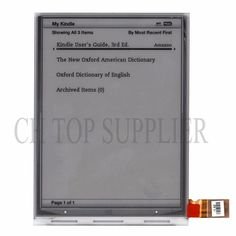 original PVI 6 inch ED060SCE ED060SCE(LF)T1 E-ink display for NOOK2 SONY PRS-T2 SONY PRS-T1 free shipping #Affiliate