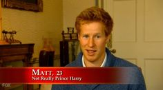 "It's even weirder that, throughout the show, they feel the need to make it explicit that he is not Prince Harry. | ""I Wanna Marry Harry"" Is A Reality Show Starring The Worst Prince Harry Lookalike In History"