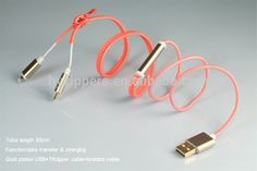 hot new products for 2015 cheap and fashion zipper usb cable charger for samsung