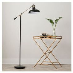 Crosby Schoolhouse Floor Lamp - Black (Includes CFL Bulb) - Threshold™