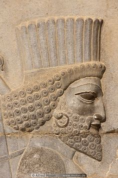02 Persian soldier bas-relief