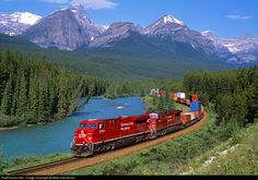 RailPictures.Net Photo: CP 8744 Canadian Pacific Railway GE ES44AC at Lake Louise, Alberta, Canada by Mike Danneman