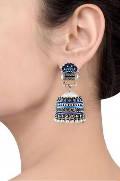 Buy Silver For Jewelry Indian Jewelry Earrings, Fancy Jewellery, Silver Jewellery Indian, Jewelry Design Earrings, Ear Jewelry, Stylish Jewelry, Jewelery, Silver Jewelry, Silver Rings