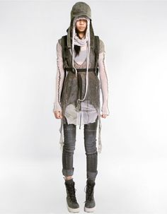 Knitted Outerwear by Demobaza