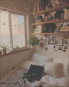 Aesthetic Bedroom Ideas Neutral Various Textured Bedding Photographs And Shelves Aesthetic Bedroom In 2019 Room Decor Dream Rooms Boho Room 464 Best Aesthetic Room Decor Images In 2019 Room Decor Nice 70 Cozy Apartment Bedroom Ideas Apartment Bedroom 15 Vintage Apartment Decor, Bedroom Vintage, Room Ideas Bedroom, Small Room Bedroom, Asian Bedroom, Decor Room, Bedroom Inspo, Modern Bedroom, Contemporary Bedroom