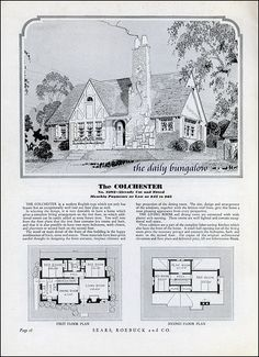Homes of Today~Sears Kit Houses~1932 | Flickr - Photo Sharing!