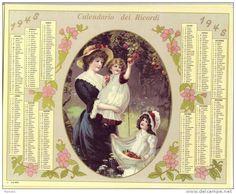 Calendario dei ricordi anno 1948