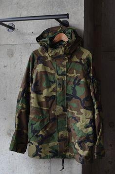 """ECWCS"" GORE-TEX Parka Camo Fashion, Mens Fashion Suits, Military Fashion, Men's Fashion, Fashion Outfits, Army Surplus Jacket, Military Jacket, Army Clothes, Diesel Jeans"