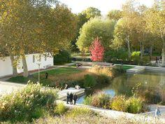 lac du parc de bercy Bel Air, Paris, France Landscape, Saint Emilion, Travel Destinations, Around The Worlds, The Neighborhood, Ile De France