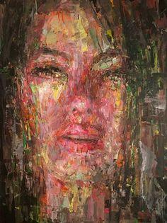 "Campfire, acrylic, 18""x 24"" : Art"