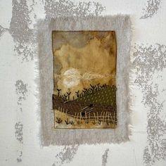Used Tea Bags, Tea Bag Art, Carol Ann, Art Journal Inspiration, Fabric Art, Textile Art, Fiber Art, Art Projects, Vintage World Maps