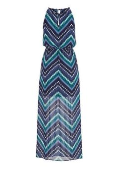 bf75e0ff0cedbd striped maxi dress with front slits - maurices.com Trendy Dresses