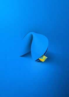 Intel Fortune Cookie Ad - Illustration by Eiko Ojala . Cut Paper Illustration, Creative Illustration, Grid Design, Graphic Design, Eiko Ojala, The Blues Brothers, Fortune Cookie, Everyday Objects, Paper Cutting