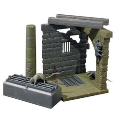 The Dungeon Monster Scenes Diorama Model Kit - DenComm Products - Horror - Model Kits at Entertainment Earth