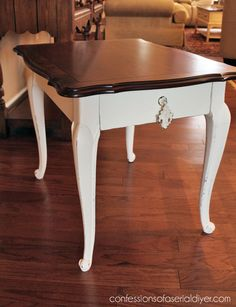 refinish french antique side table - Google Search