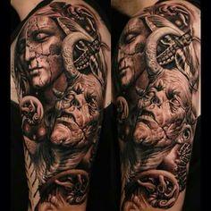Tattoo su braccio