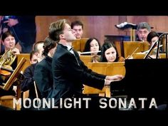 The Moonlight Sonata by Beethoven arranged for Piano & Orchestra! This is the world premiere of the first ever known version of the Moonlight sonata for pian. Blues Music, Pop Music, Live Music, America's Got Talent Videos, What Is Classical Music, Moonlight Sonata, Music Clips, Piano Music, Sheet Music