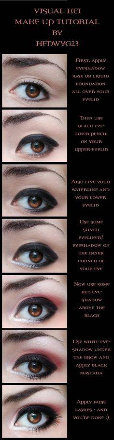CM Visual Kei make up tutorial