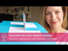 MeckMom's Teaching Tip: Easy Object Lesson on Prayer and Obedience | Check out our Sugardoodle blog!